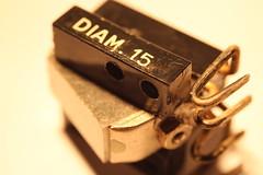 Vintage Ortofon SPU A no.1 5 (Glitch Militia) Tags: up vintage denmark mono 33 vinyl 15 pickup turntable 45 retro diamond made stereo ortofon pick 78 danmark hifi phono rpm sapphire cartridge elliptical spu diam spua