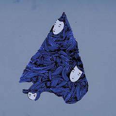 Piramide illustrazione per Rob.Perotti (Recgius) Tags: music face illustration triangle faces pyramid triangular piramide parche triangolo