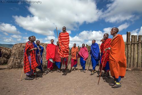 The Maasai .