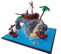 imaginext battle castle instructions