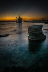 Seacaves Shipwreck (Wob n Mou) Tags: cyprus shipwreck coralbay paphos seacaves peyia edroiii