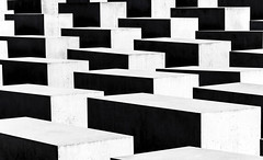 Holocaust (Fil.ippo) Tags: blackandwhite abstract berlin monument holocaust nikon memorial geometry murder jews escher filippo biancoenero berlino ebrei memoriale d7000 filippobianchi