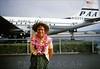 Stratoclipper Aloha Honolulu c1954 (Kamaaina56) Tags: 1950s airplane airport honolulu hawaii slide stratocruiser