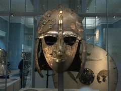 Anglo-Saxon Helmet from Sutton Hoo, British Museum (AndrewHavis) Tags: london camden britishmuseum helmets anglosaxon suttonhoo anglosaxonhelmet