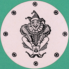 Orient Line To Australia Round Playing Card Joker (Leo Reynolds) Tags: playing canon eos iso100 deck card squaredcircle 60mm f80 playingcard carddeck 004sec 40d hpexif 033ev xleol30x sqset101 xxx2014xxx
