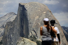 Half Dome, A View from Glacier Point, Yosemite National Park (Kazuo Murata) Tags: yosemite halfdome glacierpoint