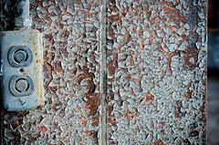 rust shines through (fallsroad) Tags: building brick architecture rust industrial decay steel rusty rusted electrical powerhouse sandspringsoklahoma sandspringspowerplant nikond7000