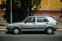 Car IX (sefaniavitalis) Tags: berlin classic vintage golf volkswagen rust decay streetphotography retro ii ugly