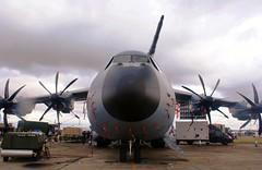 RAF A400M Atlas (MJ_100) Tags: plane airplane aviation transport aeroplane cargo airshow airbus atlas raf turboprop freighter fairford a400 riat 2015 royalairforce a4oom
