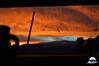 l'alba dalla mia finestra