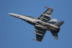 McDonnell Douglas F-18C Hornet (Nick Collins Photography, Thanks for 2.1 million v) Tags: finland flying aircraft military airshow hornet finnish douglas 31 raf fairford mcdonnell riat 1421 f18c hn424 hävllv kuopiorissala fnc024