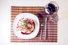 ''Gotcha'' pork roast (Déja-Vu) Tags: sony a7m2 a7ii dinnerforone shokugekinosouma 1635mm redwine tasty porkroast