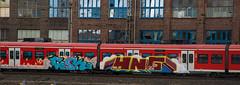 _DSC7684 (Under Color) Tags: hannover hauptbahnhof graffiti db zug train strain sbahn mainstation art streetart subwayart kunst
