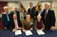 "Building Heroes & Chichester College Joint Armed Forces Covenant Signing • <a style=""font-size:0.8em;"" href=""http://www.flickr.com/photos/146127368@N06/32752893153/"" target=""_blank"">View on Flickr</a>"