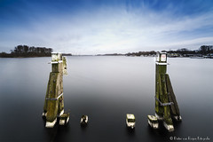 At the end of the jetty. (PvRFotografie) Tags: nederland holland nature natuur water longexposure nd filter leebigstopper leesw150 sonyilca99m2 1224mm 12mm sigma1224mm sigma12244556 wideangle groothoek