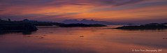 Traigh Sands Sunset (silverlarynx) Tags: scotland highlands arisaig west coast sunset seascape landscape isle rum rhum