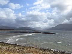8394 Glen Coe across Loch Linnhe (Andy - Busyyyyyyyyy) Tags: 20170314 ballachulish bbb bridge ccc clouds ggg glencoe iii islets lll lochlinnhe mist mmm rocks sealoch sss