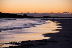 Tomorrow in Australia (johnshlau) Tags: tomorrowinaustralia tomorrow australia dontworryabouttheworldcomingtoanendtodayitsalreadytomorrowinaustralia dontworry comingtoanendtoday behappy charlesschulz americancartoonist cartoonist sparky peanuts mesmerizingexperience mesmerizing experience walking sandybeach sandy beach refreshing serene peaceful calm silent tranquil magical serenity peacefulness calmness silence tranquility meditation zen beautiful dawn earlymorning morninghasbroken bicheno tasmania nature water landscape waves light sunrise sun golden brown