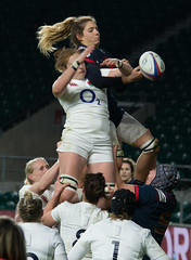 England v France #5 (Claire Stones) Tags: france redroses twickenham 6nations rugbyunion 2017 twickenhamstadium rugby englandvfrance england sixnations womensrugby