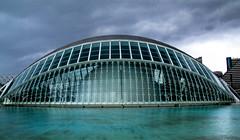 Ciudad de Artes y Ciencias (elgar22) Tags: architecture ciudaddeartesyciencias spain valencia blue marine cloudy stormy