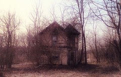 you can't hide your transgressions anymore... (BillsExplorations) Tags: transgressions abandoned abandonedillinois abandonedhouse woods trees forgotten decay ruraldecay farm oncewashome farmhouse uncovered shuttered ruins wow