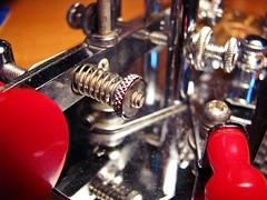 I ❤ Ham Radio - Lunchtime Activity (Daryll90ca) Tags: hamradio amateurradio vibroplex vibroplexbug morse morsecode morsekey