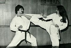 Karate! (Midnight Believer) Tags: karate martialarts selfdefense barefoot fighting retro 1970s