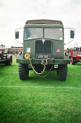 USK 750 - AEC Militant (Jonny1312) Tags: ballymena ballymenasteamrally ballymenashowgrounds draperstown lorry truck army aec aecmilitant
