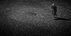 the trap... (sermatimati) Tags: sooner later trap selfie sermatimati nikon bw bianco nero roma manhole fantasia allegoria selciato sanpietrini luce ombre vita oggi telefono truffe nude fotografia fotografo bare scams allegory magic trick today life black white rome italy scammers phone calls always careful thinking good faith boiling hot money cheat photography photographer scam imbroglio swindle fix tangle entanglement fraud deceit cheating humbug camouflage
