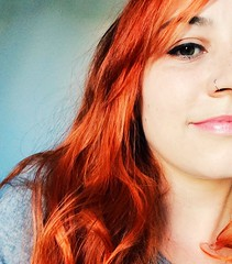 Ruivei! (Mi Andrade) Tags: ruiva cabelo vermelho gostei red