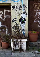 HH-Wheatpaste 3219 (cmdpirx) Tags: hamburg germany reclaim your city urban street art streetart artist kuenstler graffiti aerosol spray can paint piece painting drawing colour color farbe spraydose dose marker stift kreide chalk stencil schablone wall wand nikon d7100 paper pappe paste up pastup pastie wheatepaste wheatpaste pasted glue kleister kleber cement cutout