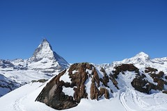 Cervin - Matterhorn (Iris_14) Tags: cervin matterhorn zermatt gornergrat rotenboden neige alpes mountain swissalps suisse switzerland dentblanche schweiz valais wallis