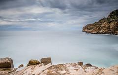 Paisaje de costa (Photandr) Tags: faro cartagena mar longexposure seascape murcia rompeolas espigón sea water rocks