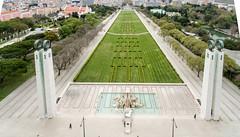 Aerial Shot of Parque Eduardo VII de Inglaterra