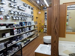 Wall of Faucets... (Nicholas Eckhart) Tags: america us usa oh ohio columbus retail stores andersons theandersons generalstore hypermarket supercenter