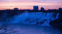 Niagara before Sunrise (jed52400) Tags: prospectpointobservationtower americanfalls bridalveilfalls niagara ontario canada
