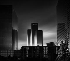La Dfense Study I Tour Total (Joel Tjintjelaar) Tags: longexposure bw paris ladefense bwphotography tourtotal ts24mm blackandwhitefineart tiltshift24mm canon5dmkiii joeltjintjelaar 16stops architecturalfineartphotography