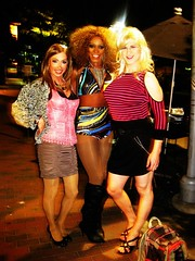 On the Street with the Girls (Vera Wylde) Tags: street black public drag outside outdoors tv high vermont dress cross legs boots cd bare performance performing skirt crossdressing dressing queen tgirl transgender host short tranny blonde transvestite heels hostess perform trans dresser queer performer transgendered crossdresser crossdress ts peepshow vt monkeyhouse tg transgirl burlesquer verawylde