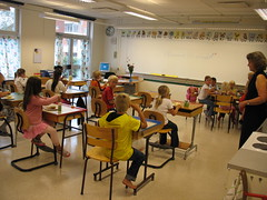 A Swedish classroom (kemorgan65) Tags: school children classroom sweden