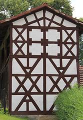 (:Linda:) Tags: germany town thuringia halftimbered andreaskreuz hellingen cruxdecussata standrew´scross