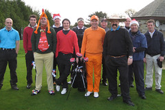 002 - A Motley Crew ready to go on the Nicklaus Course 1st Tee (Neville Wootton Photography) Tags: golf paulmarshall stuartpayne canonixus70 nicklauscourse nathanjenkins stmelliongolfclub joeyorke nevillewootton neilpaull markcottingham benregan martynhunkin andynokes derekbaxter kevinwhiteley redhedzrollupxmastrophy