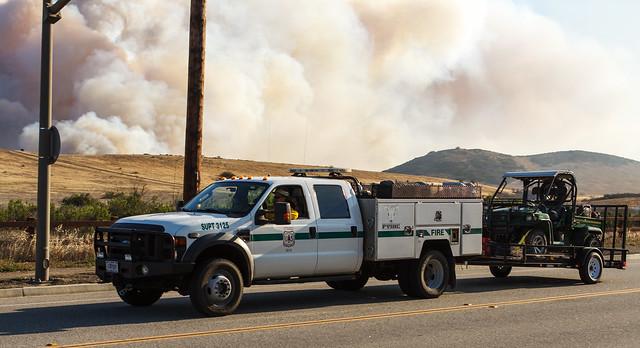 ca ford truck fire pickup hotshots pleasantvalley f550 usfs superduty springsfire supt3125