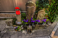 Pause for the Cause (Brendan Arthur Ring) Tags: japan canon photography eos tokyo shrine flickr august 7d  11th 12th hdr   shinjukuku 2013 kamiochiai  brendanarthurring photographersontumblr 08122013 img812756tonemappedbkuedressgurlpscamraw