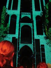 DJ Kypski | VJ op de Dom (indigo_jones) Tags: music holland netherlands colors architecture lights video movement graphics utrecht domtoren dj got