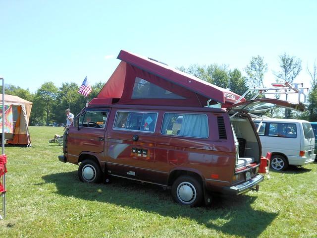 vw volkswagen connecticut camper terryville 2013 bugafair vwvanagon mark3transporter