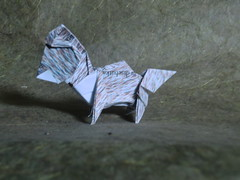 anjing kecil/little dog- Barth Dunkan (haditahir) Tags: dog origami diagram dunkan barth anjing