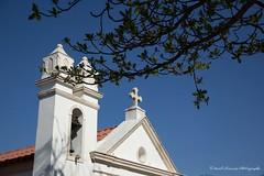 Church (Marl1) Tags: blue brazil sky tree church canon cross bell faith catholicism niteri