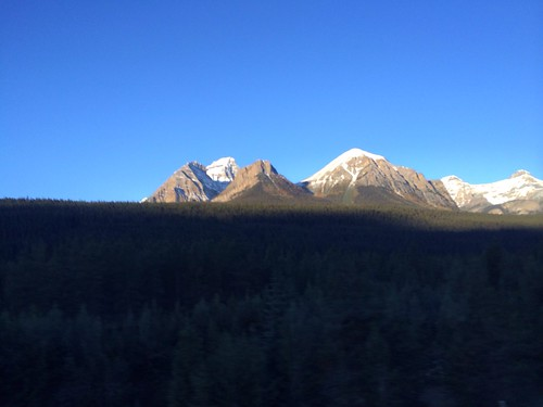 Angekommen in Banff.