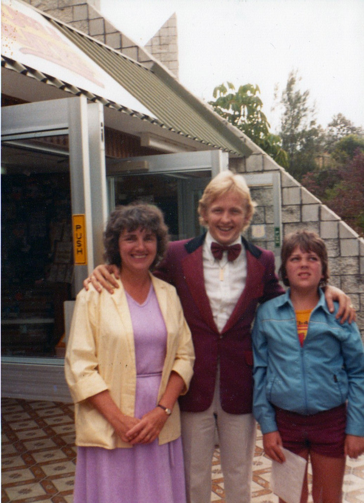 Jean Hart and Son David Australia 1970s