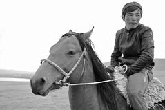 The Peaceful Rider (keltikee) Tags: sky horse man animal caballo cheval rienda cuerda rope ciel cielo guide rein soie seda hombre steppe homme stepa guia tranquille tranquilo sereno aise rne